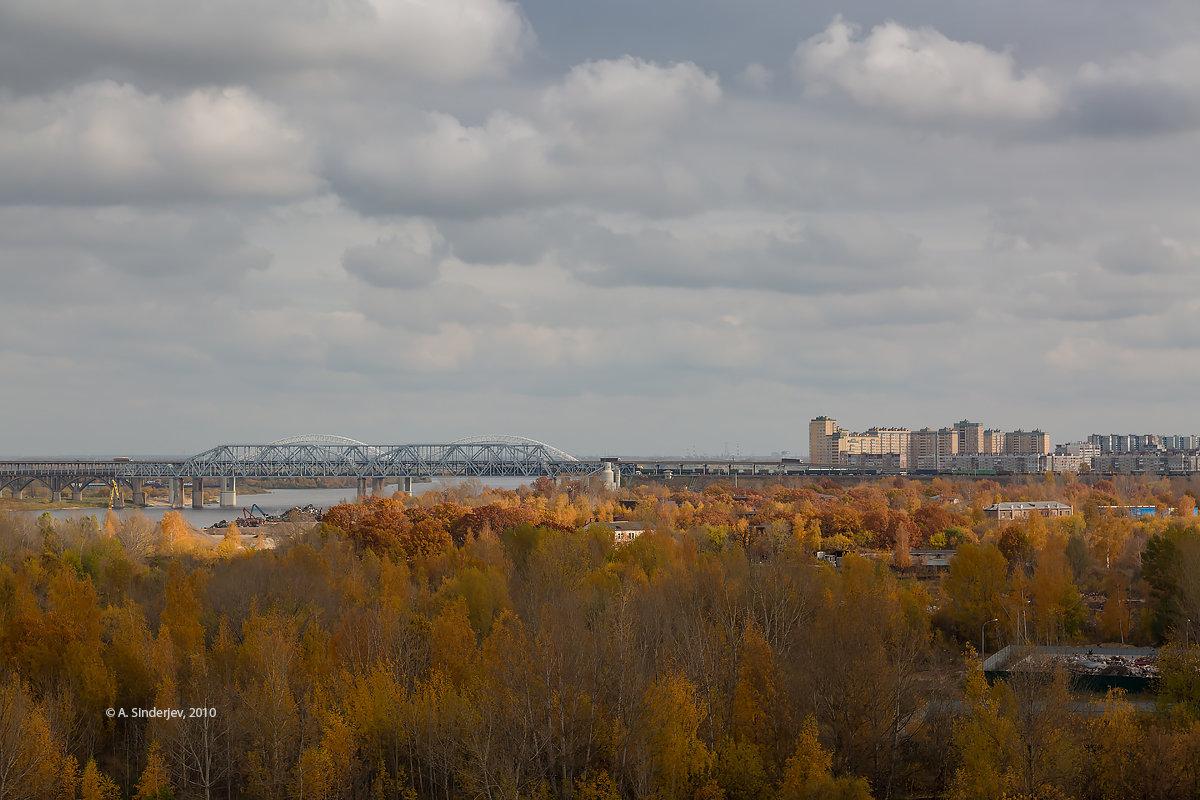 Осень в Нижнем Новгороде - Александр Синдерёв