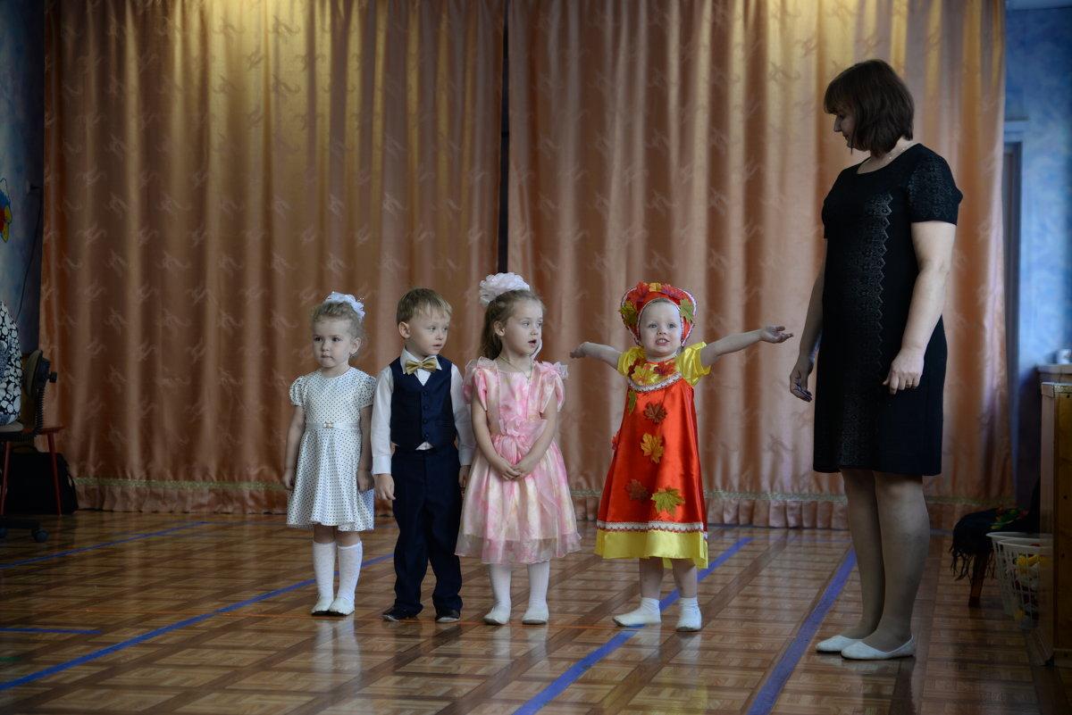 Первое выступление - Ольга