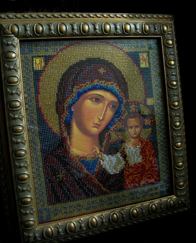 Икона «Казанская Божья Матерь» - Елена Павлова (Смолова)