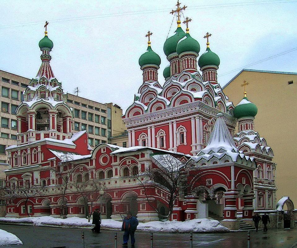 Церковь Святой Живоначальной Троицы в Никитниках - Анастасия Смирнова