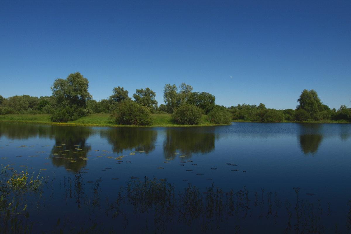 Голубое озеро - Василь Веренич