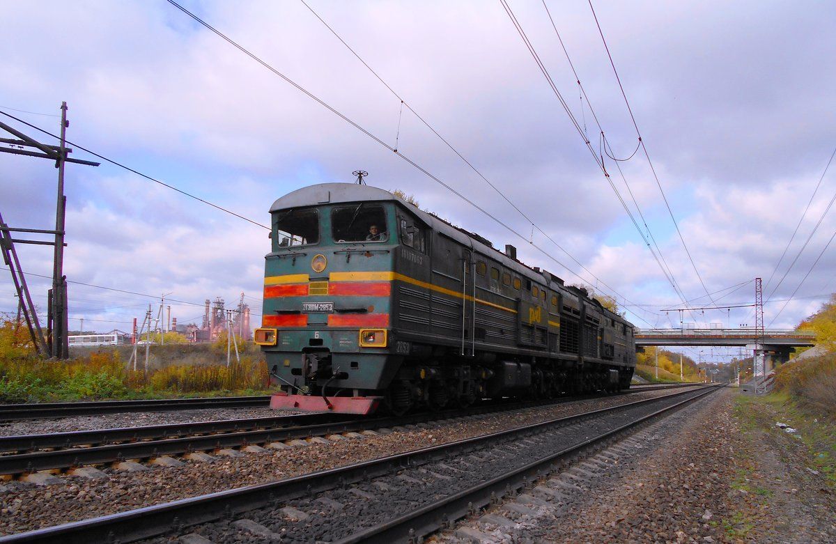 2ТЭ10М - 2853 - Сергей Уткин