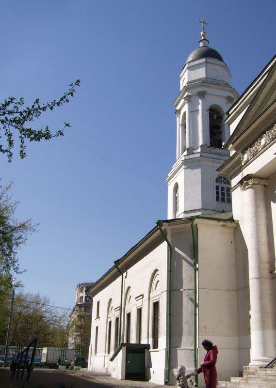 Храм Флора и Лавра на Зацепе - Анна Воробьева