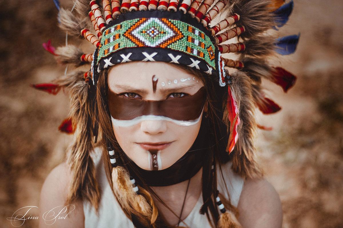 Индейское племя - Кристина Пролыгина