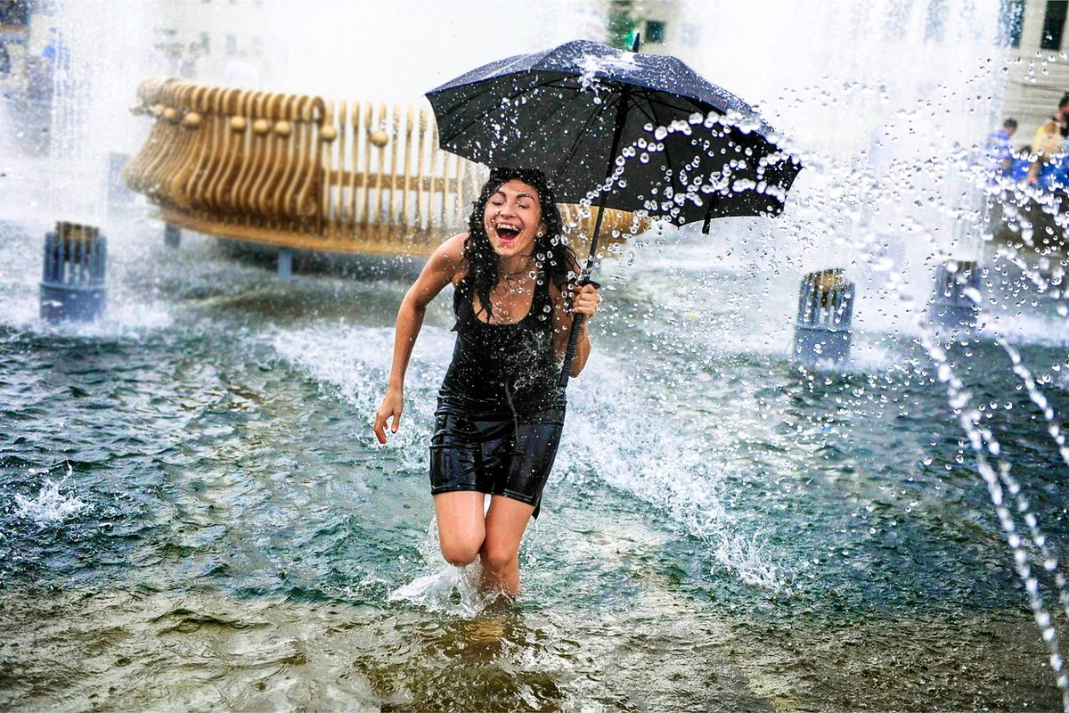 мокрая девочка - Deshmidt