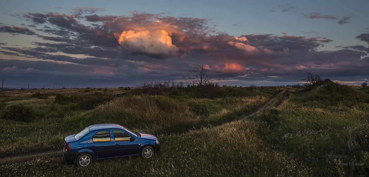 Летний вечер у села Борщёво - Юрий Клишин