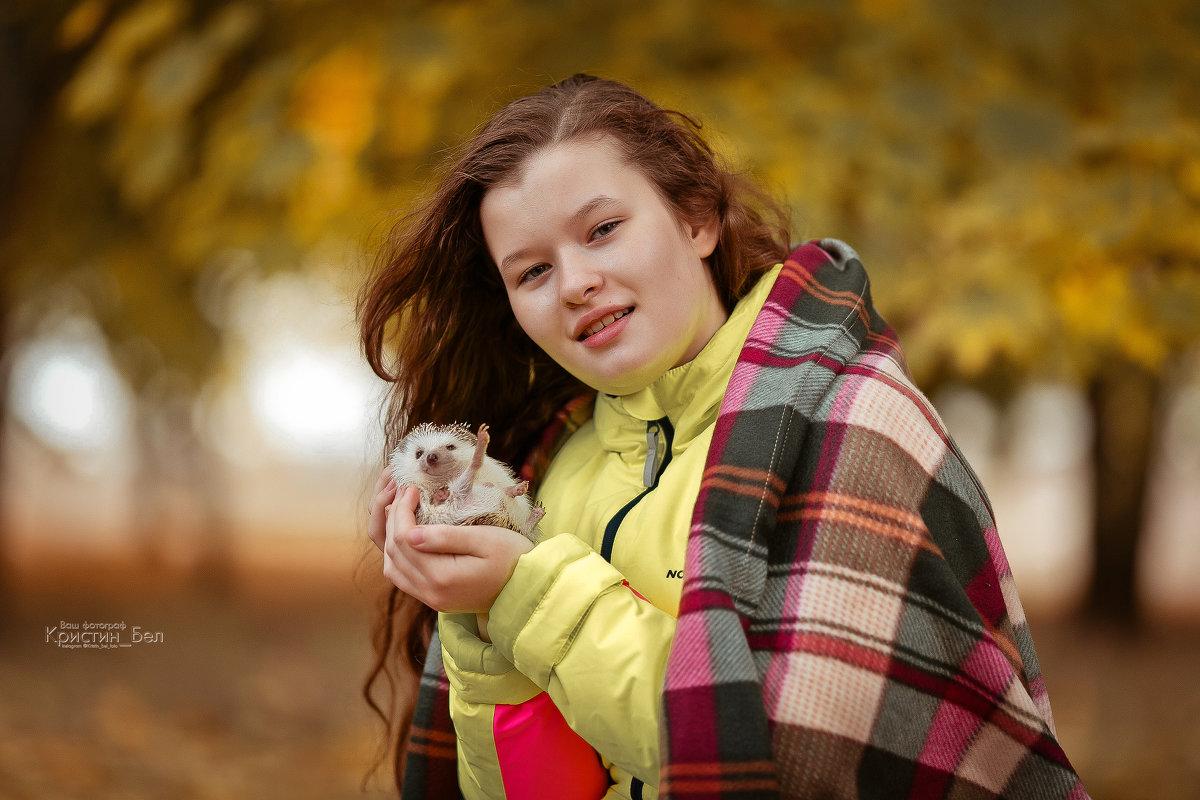 Мои очаровательные Марго и приветливый не колючка :) - Кристина Беляева