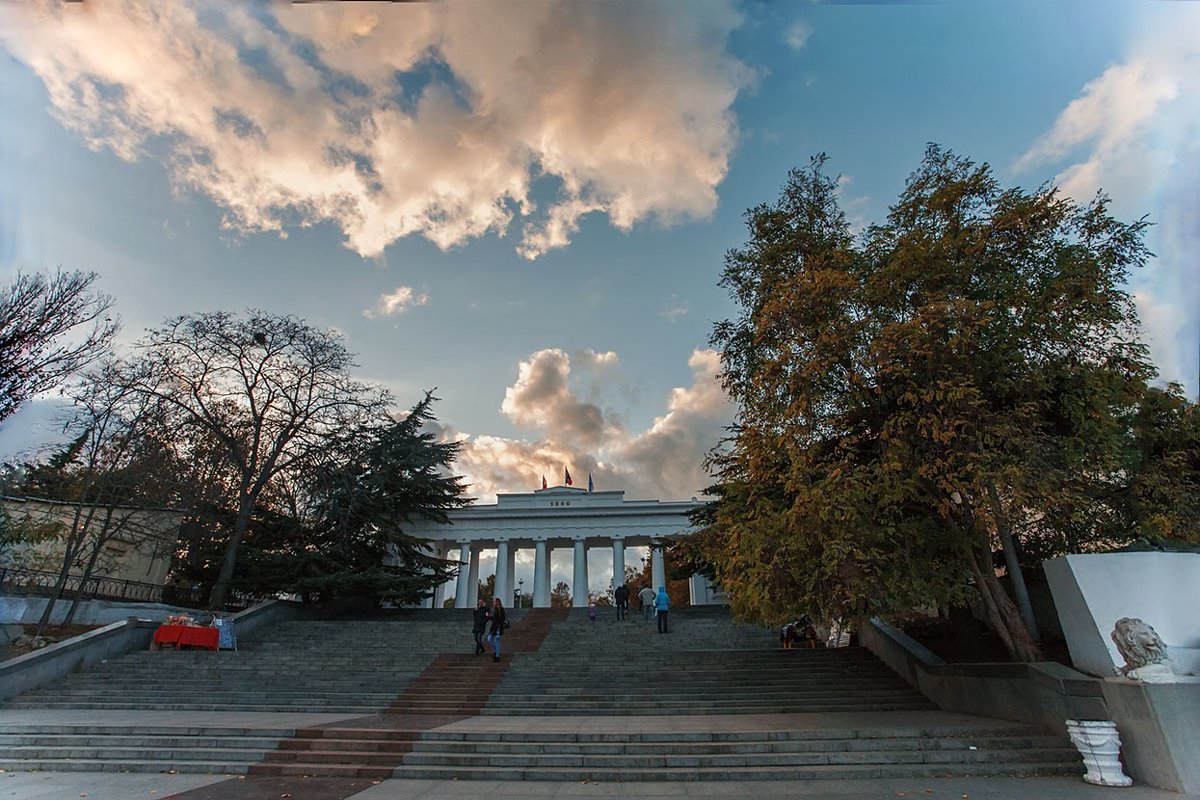 Осень. Графская пристань - Виктор Мороз