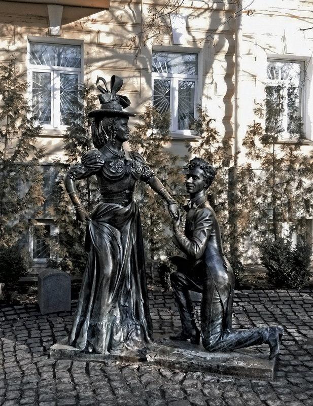Артисты О.Борисов и Т.Криницкая - Владимир Бровко