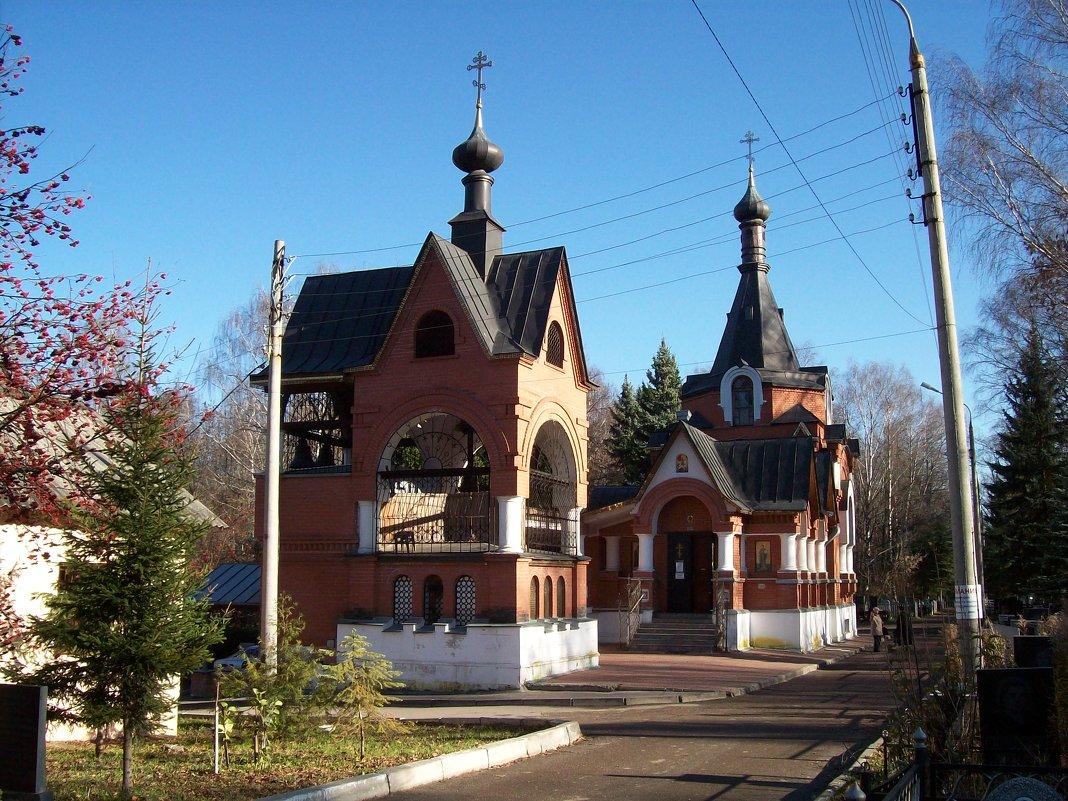 Церковь Всех Святых на кладбище Марьина роща - Николай O.D.