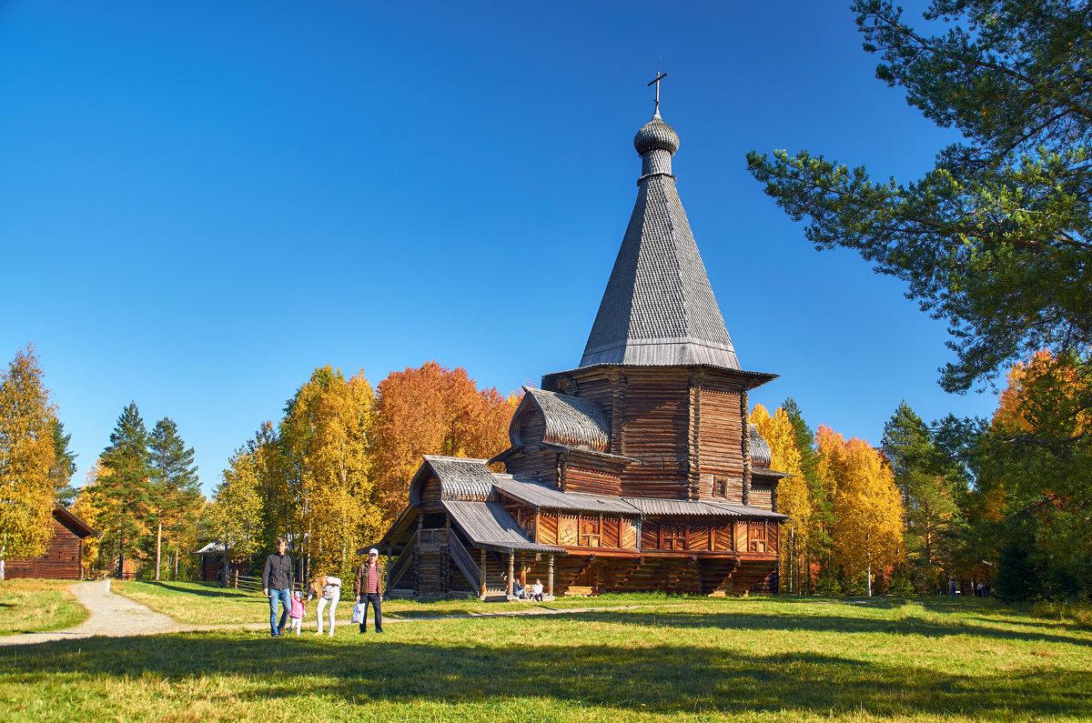 Осень в Малых Корелах - Виктор Заморков