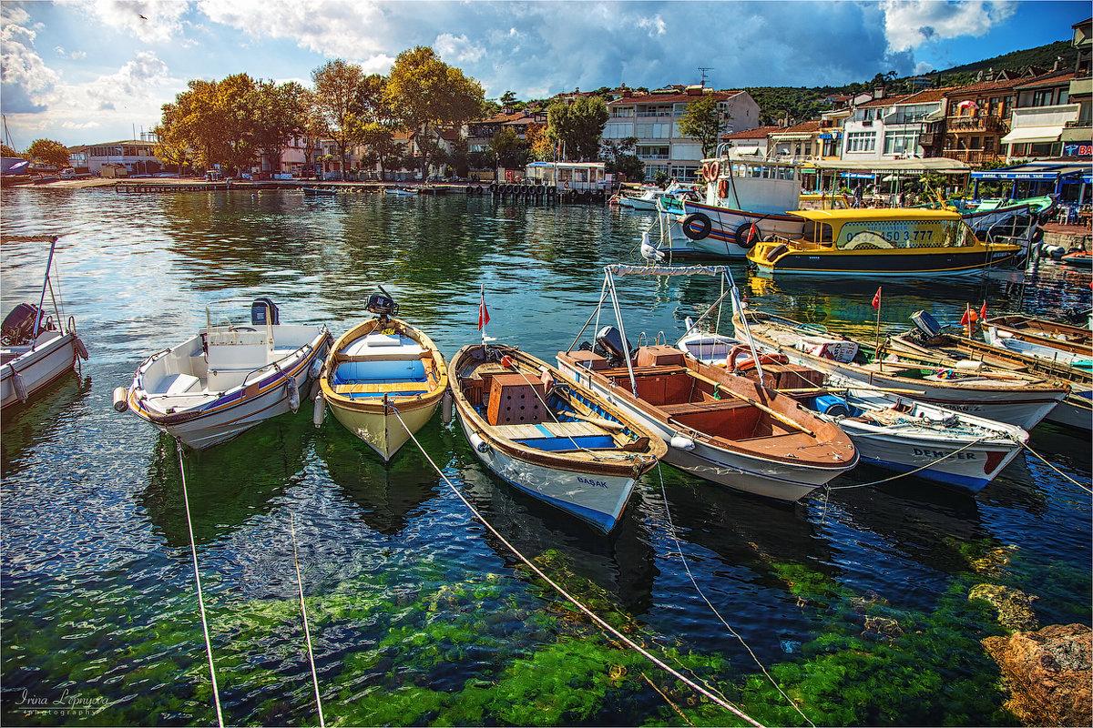 Пристань острова Бургазада в Мраморном море - Ирина Лепнёва