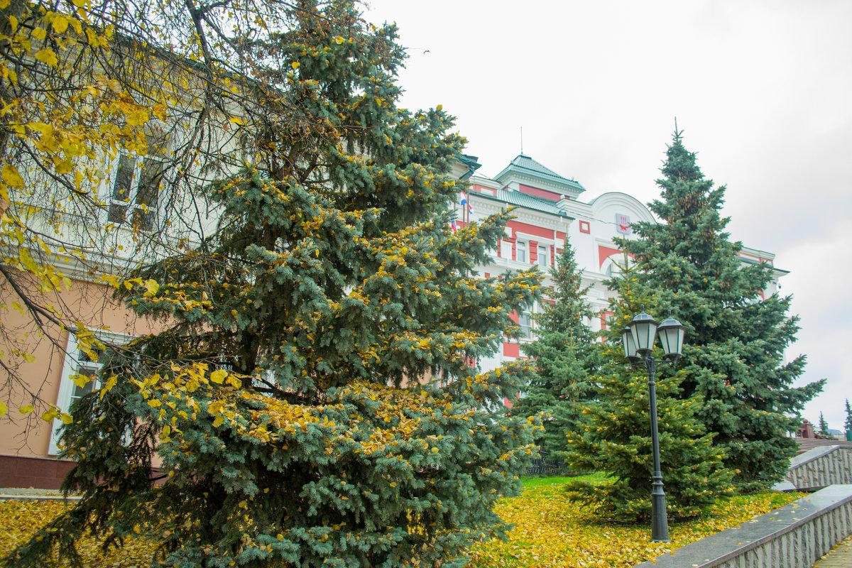 Экскурсия по осеннему Саранску 3 - Евгений Ломтев