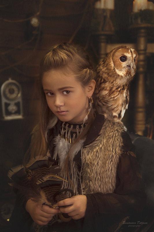Юная волшебница и совушка - Татьяна Семёнова
