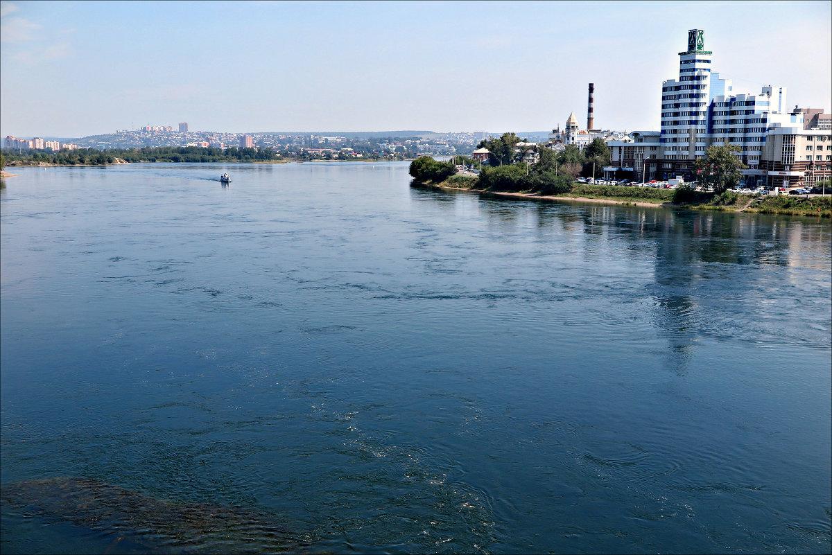 Река Ангара в Иркутске - Leonid Rutov
