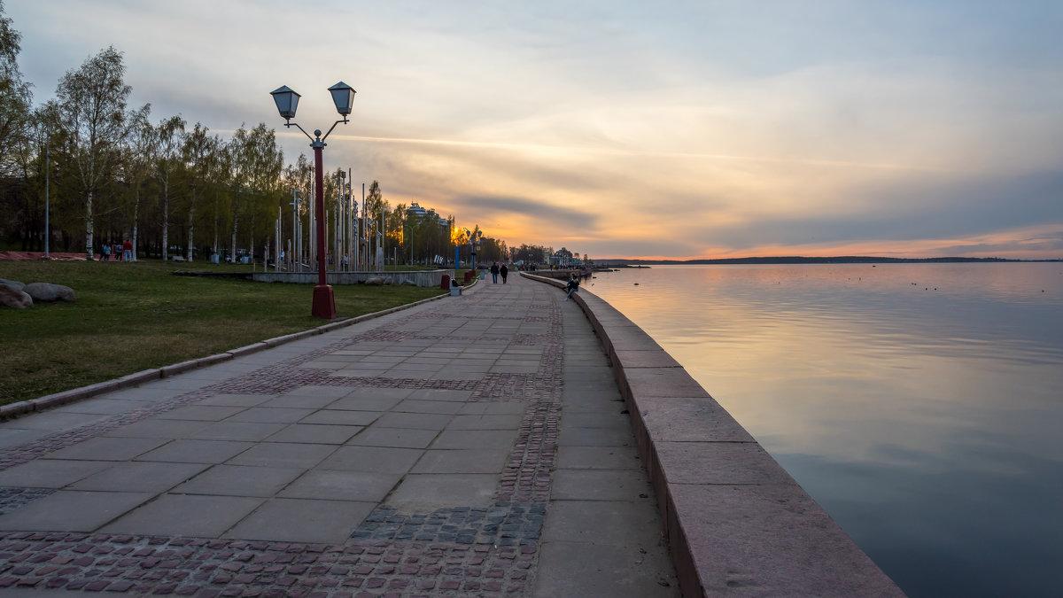Набережная Петрозаводска - Владимир Лазарев