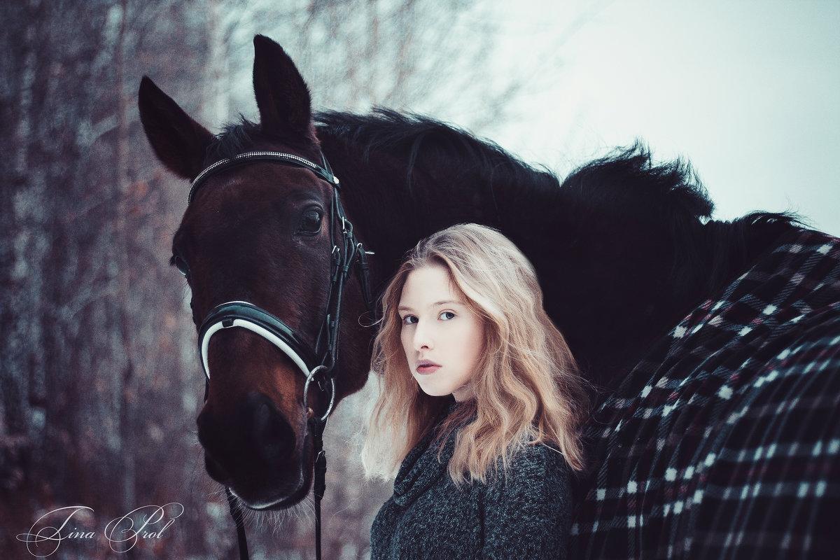 Девочка и ее конь Виллиаф - Кристина Пролыгина