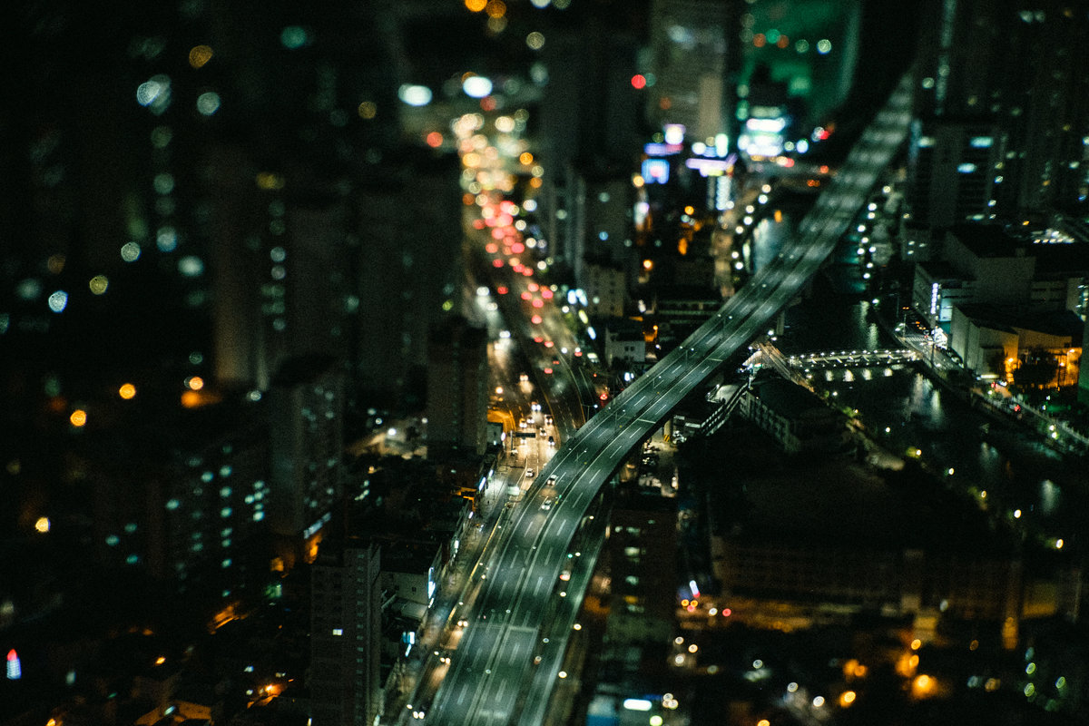 Night City Lights - Станислав Маун