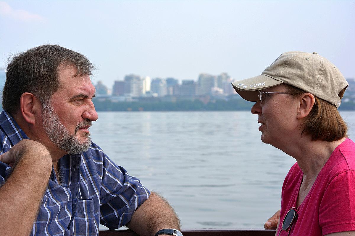 Душевный разговор на озере Сиху - Андрей + Ирина Степановы