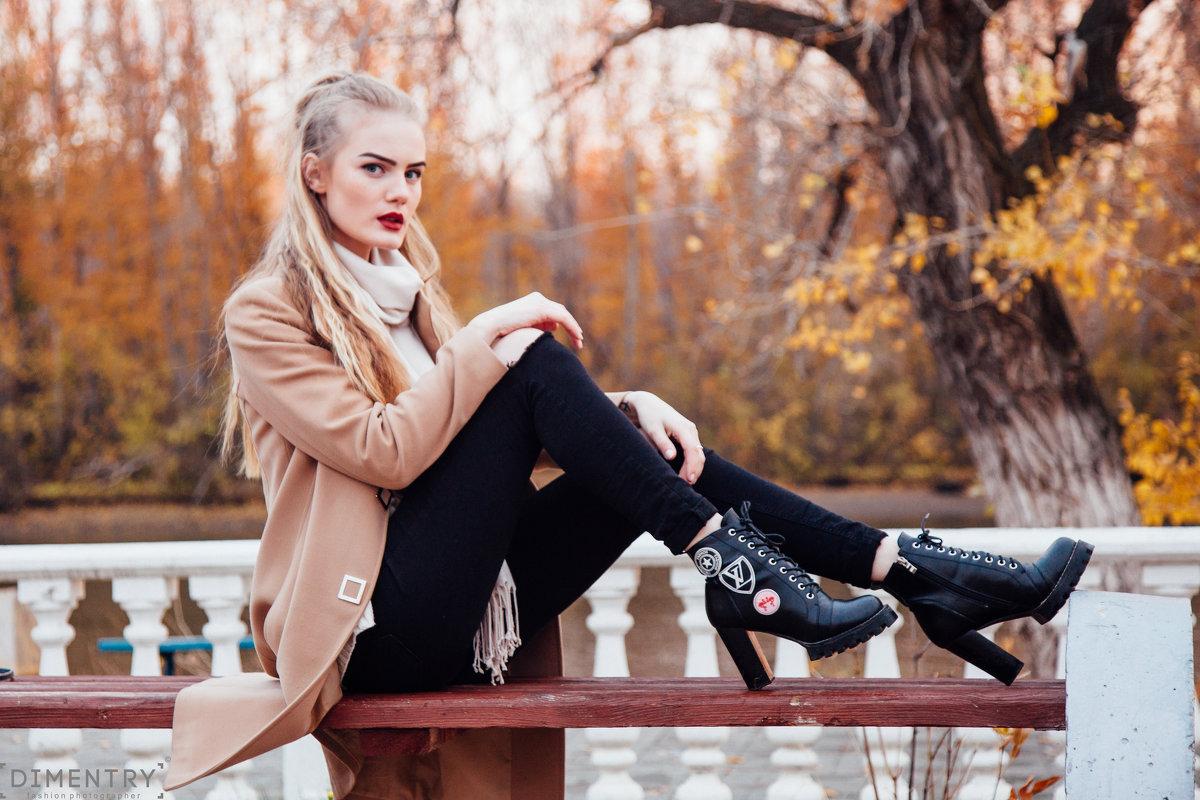 девушка осени - Dmitriy Predybailo