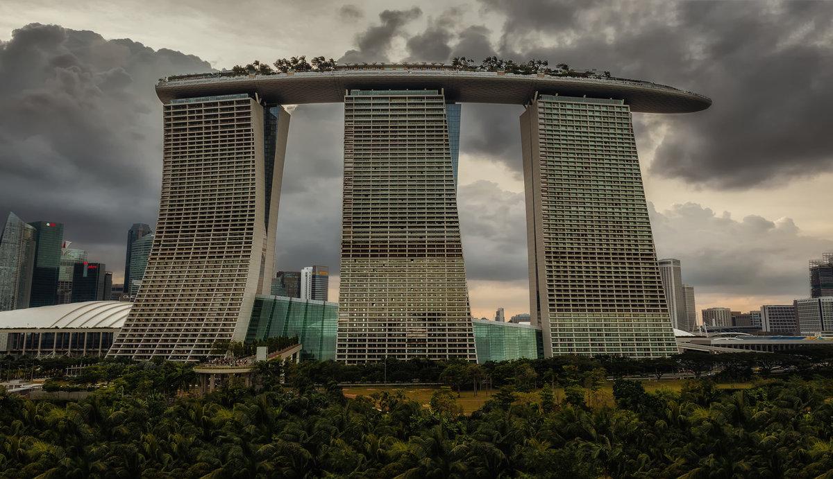 Вечерний Marina Bay Sands...Сингапур! - Александр Вивчарик