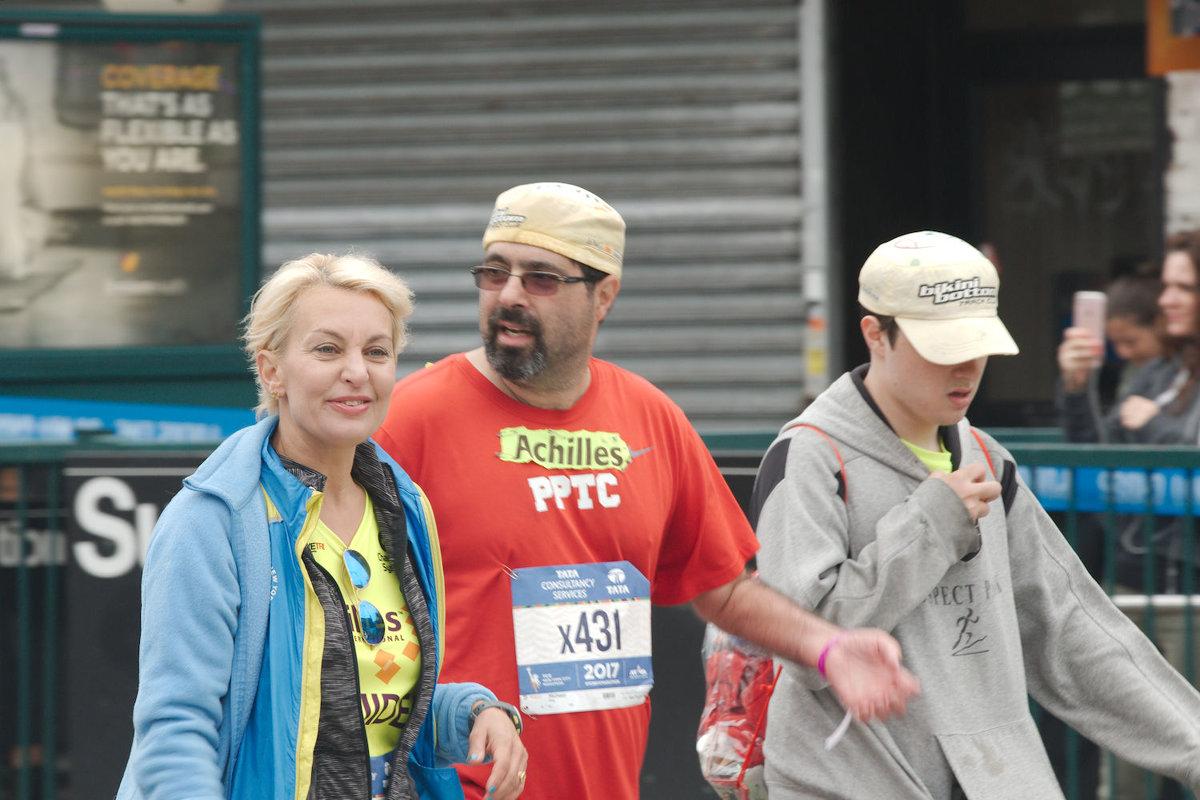 Нью-Йоркский марафон 2017 - Олег Чемоданов