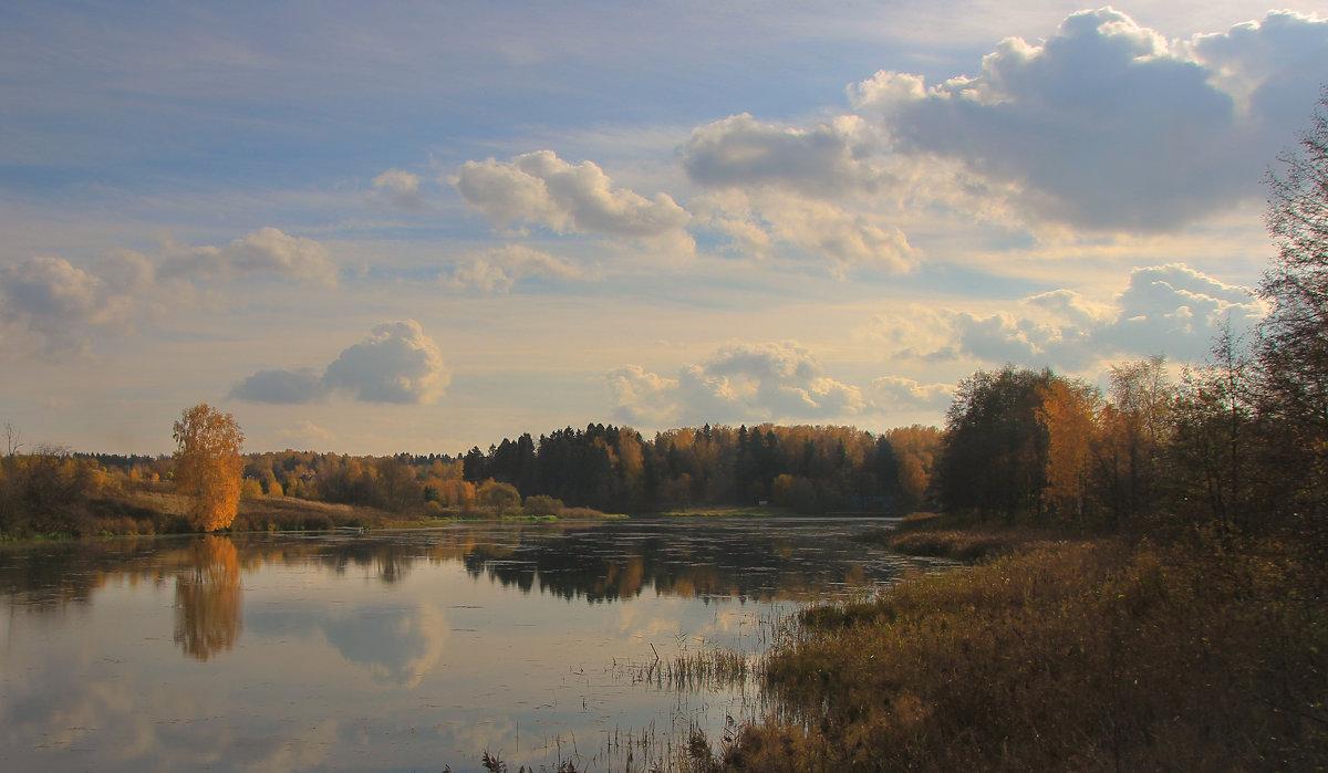 Природа вся полна последней теплоты; Прозрачных облаков спокойное движенье, - ALISA LISA