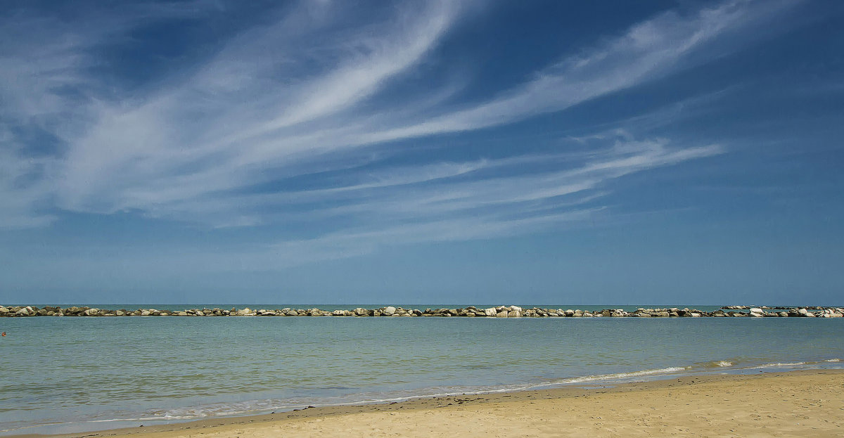 Пляж Римини. - leo yagonen