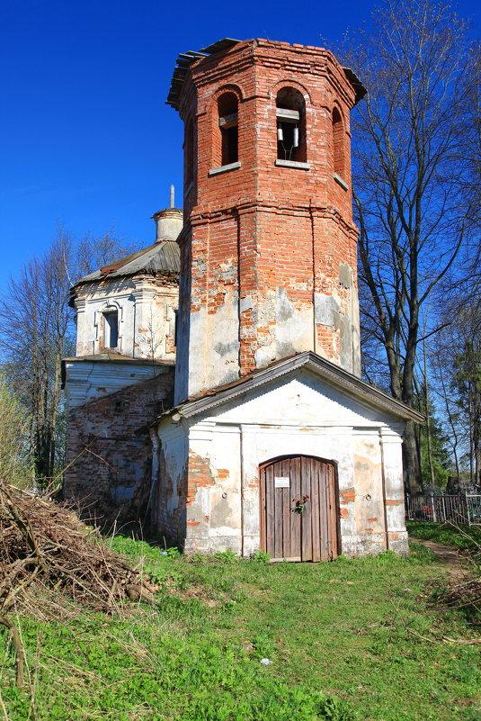 деревня Романщина, Лужский район - Александр