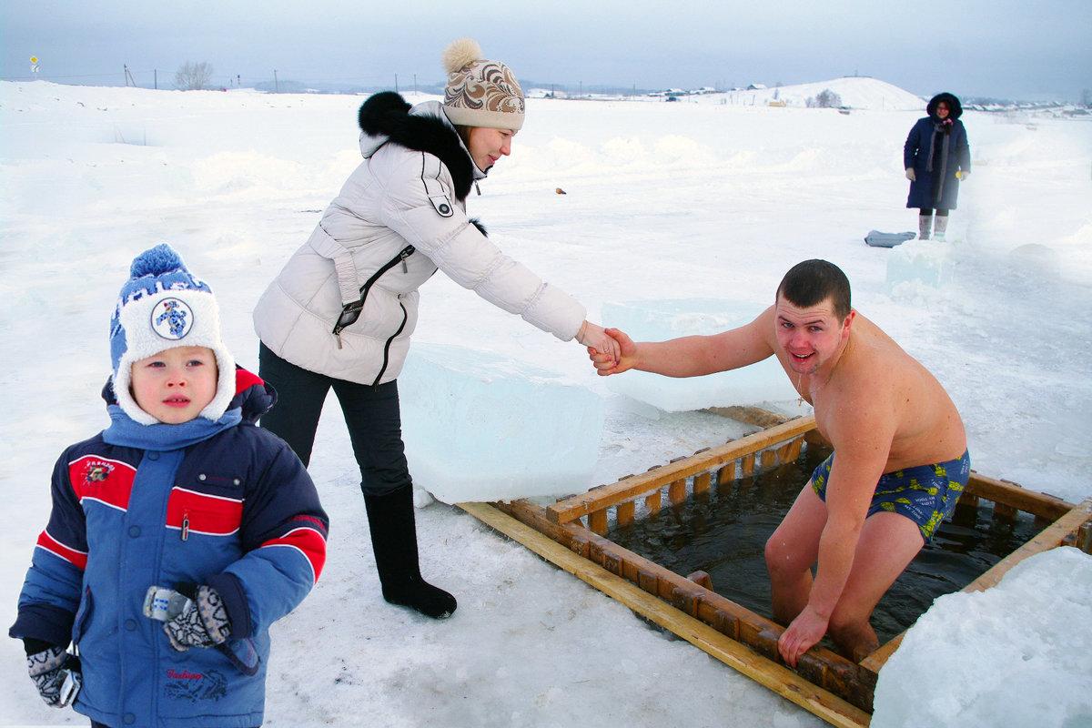 крещенские купания - леонид логинов