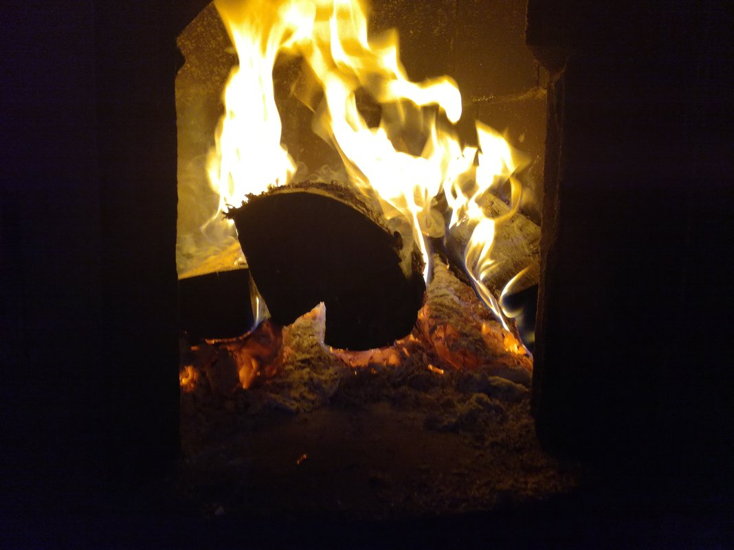 Огонь в печи - BoxerMak Mak