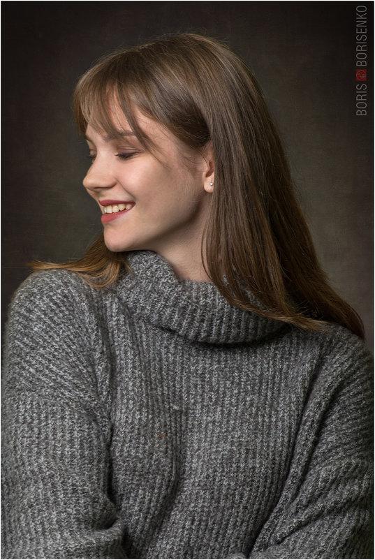 Женский портрет - Борис Борисенко