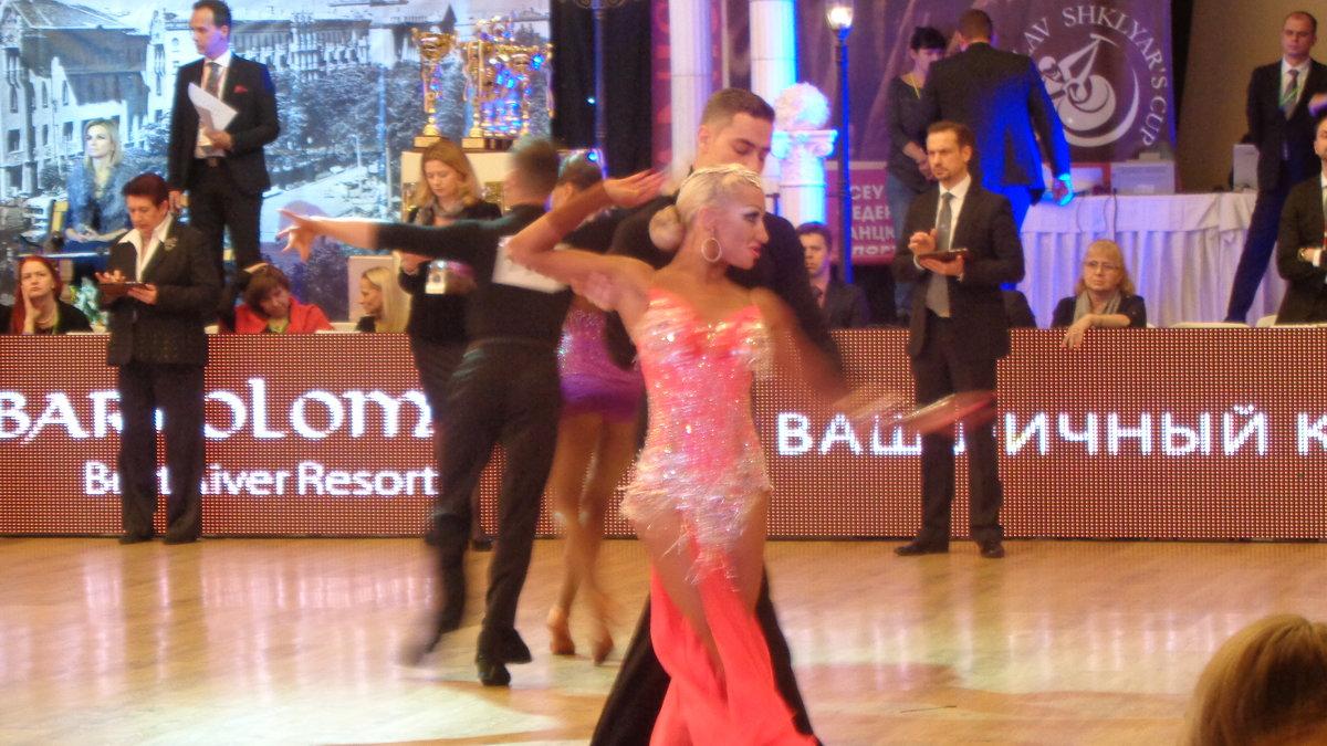 Чешская пара - победители международного конкурса бальных танцев в Днепре!... - Алекс Аро Аро