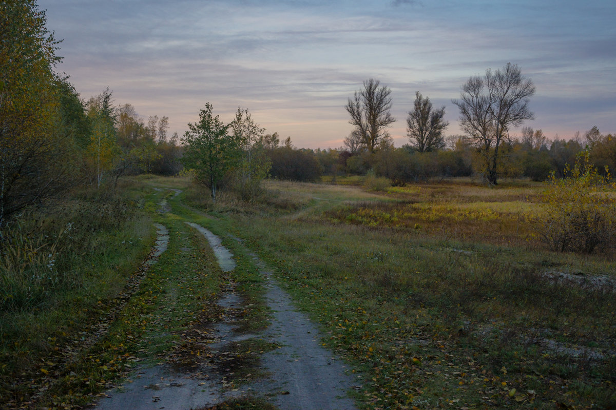 Осенний пейзаж - Сергей Дишук