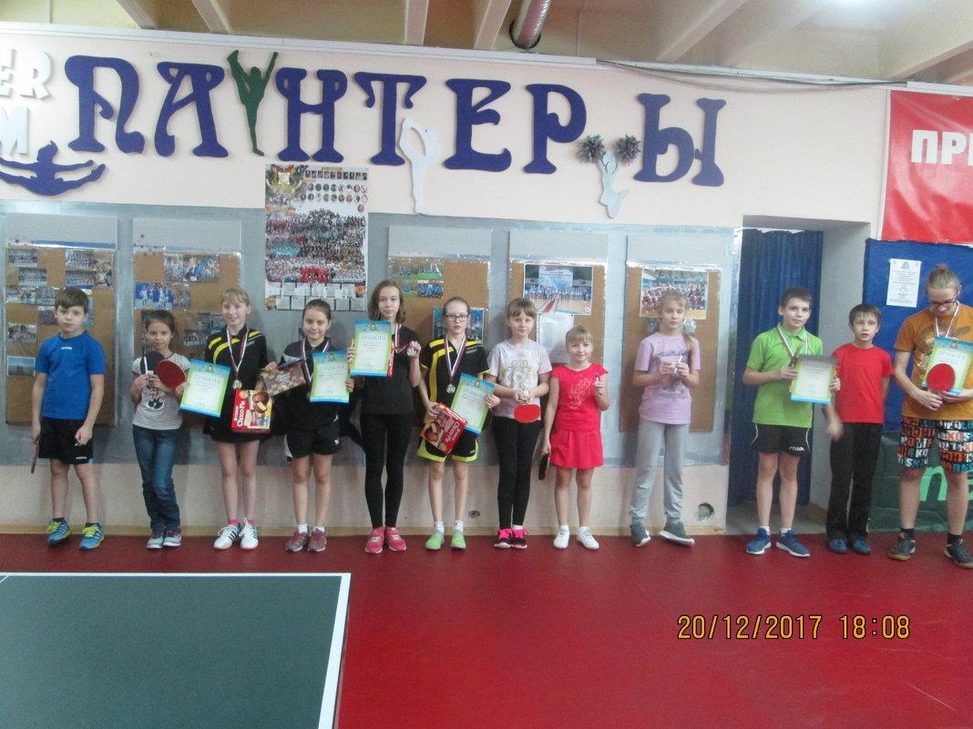 Турнир по настольному теннису среди детей - Центр Юность