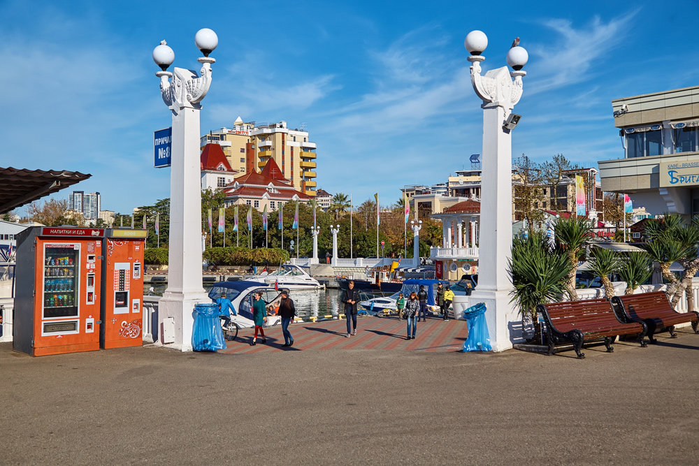 Сочи. Морвокзал - Николай Николенко