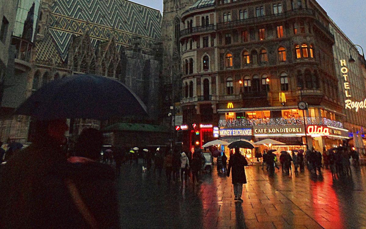 Дождливый вечер в Вене - Галина