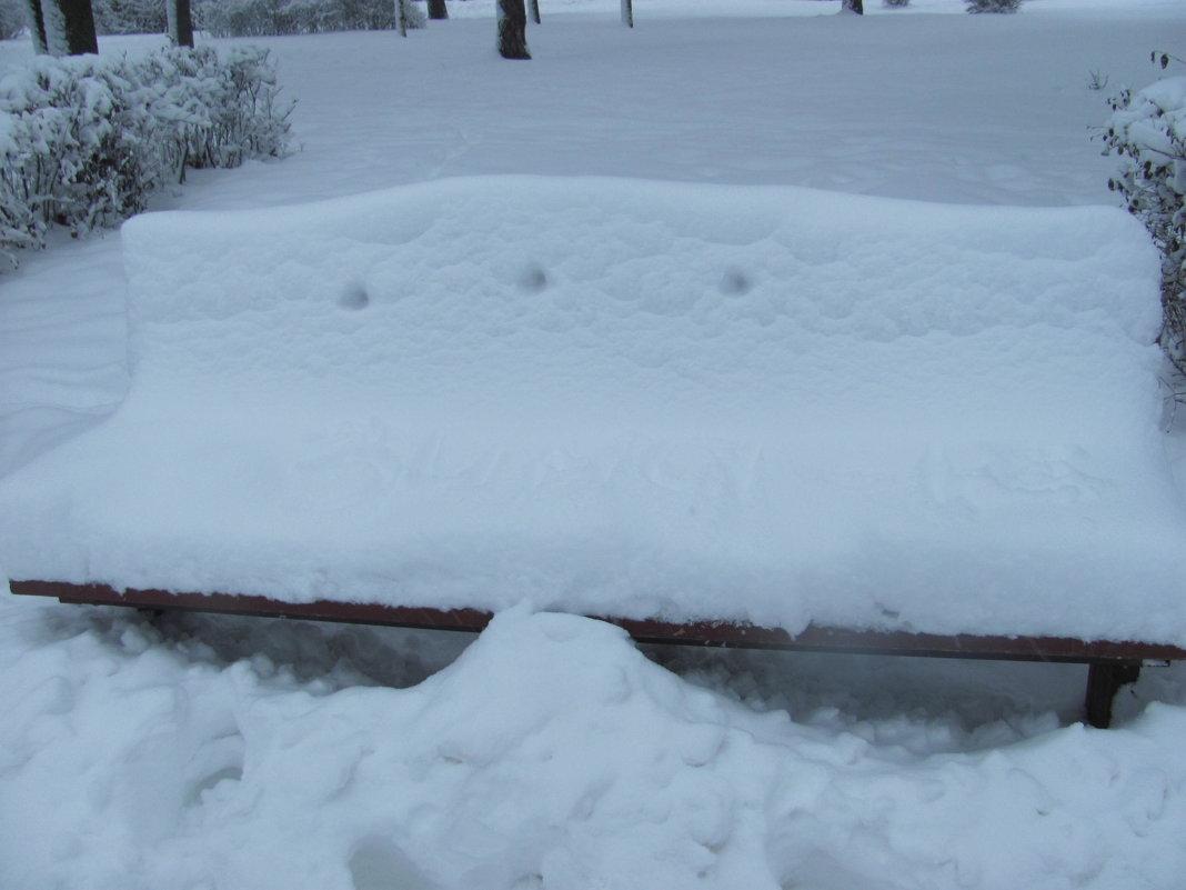 зима - Зинаида