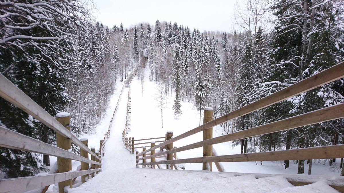 Снежная Лестница - Mexicanec