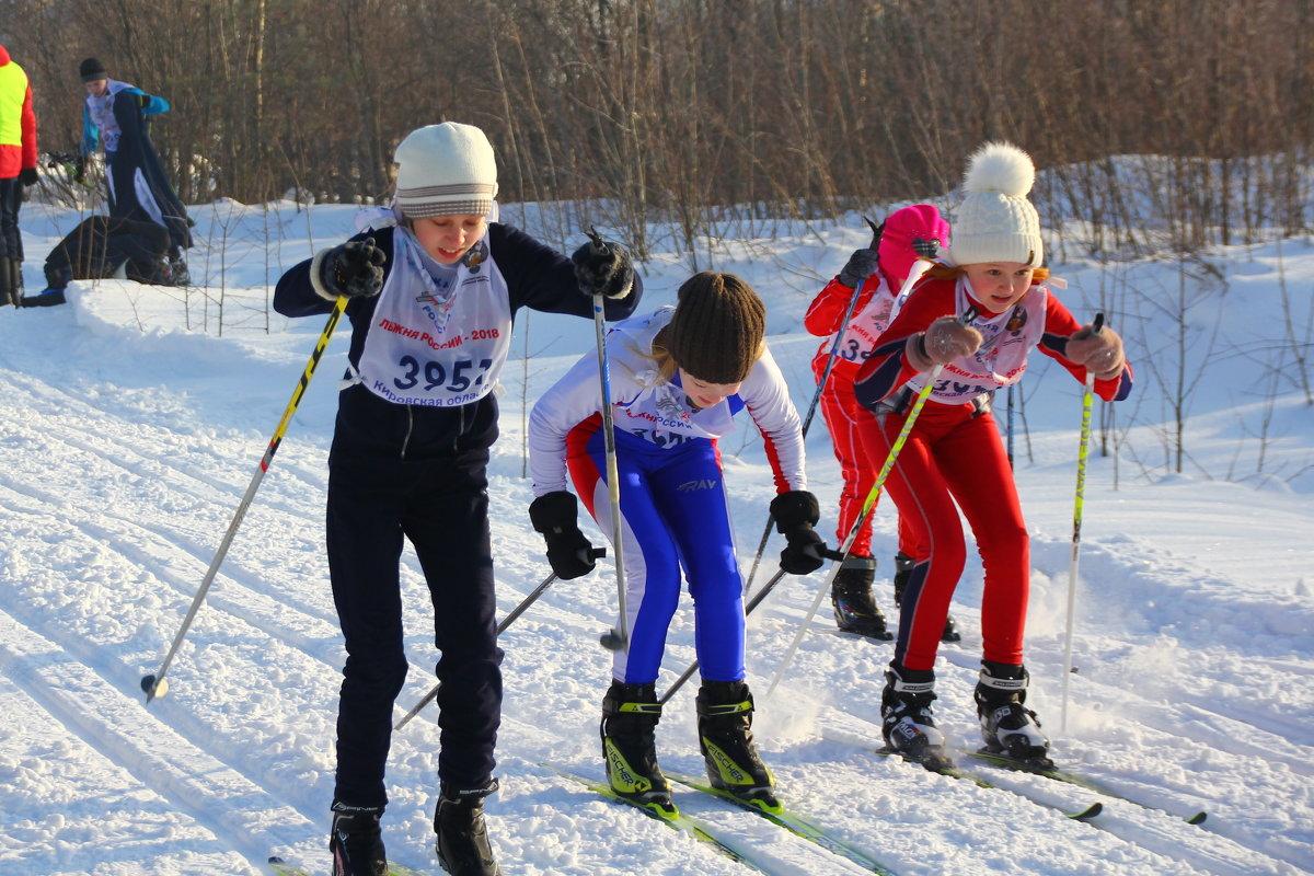 Лыжная гонка... - Александр Широнин