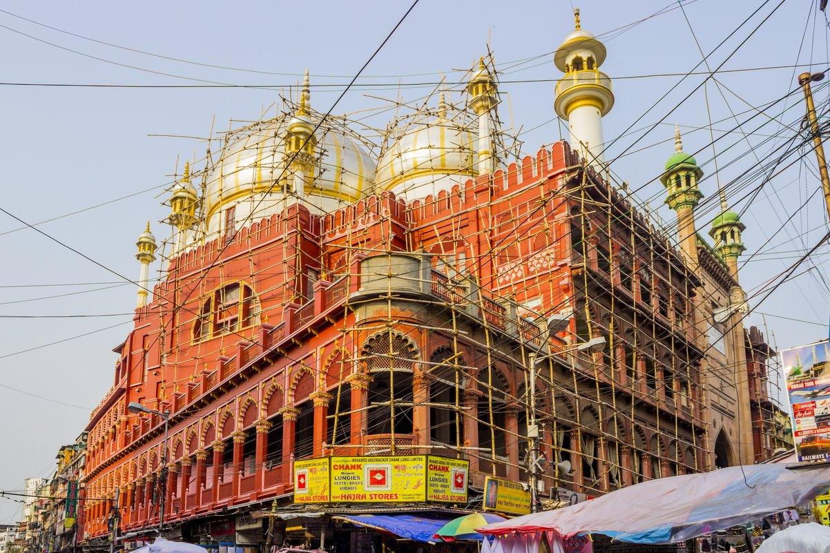 Калькутта.Мечеть Накхода Масджид - Михаил Юрин