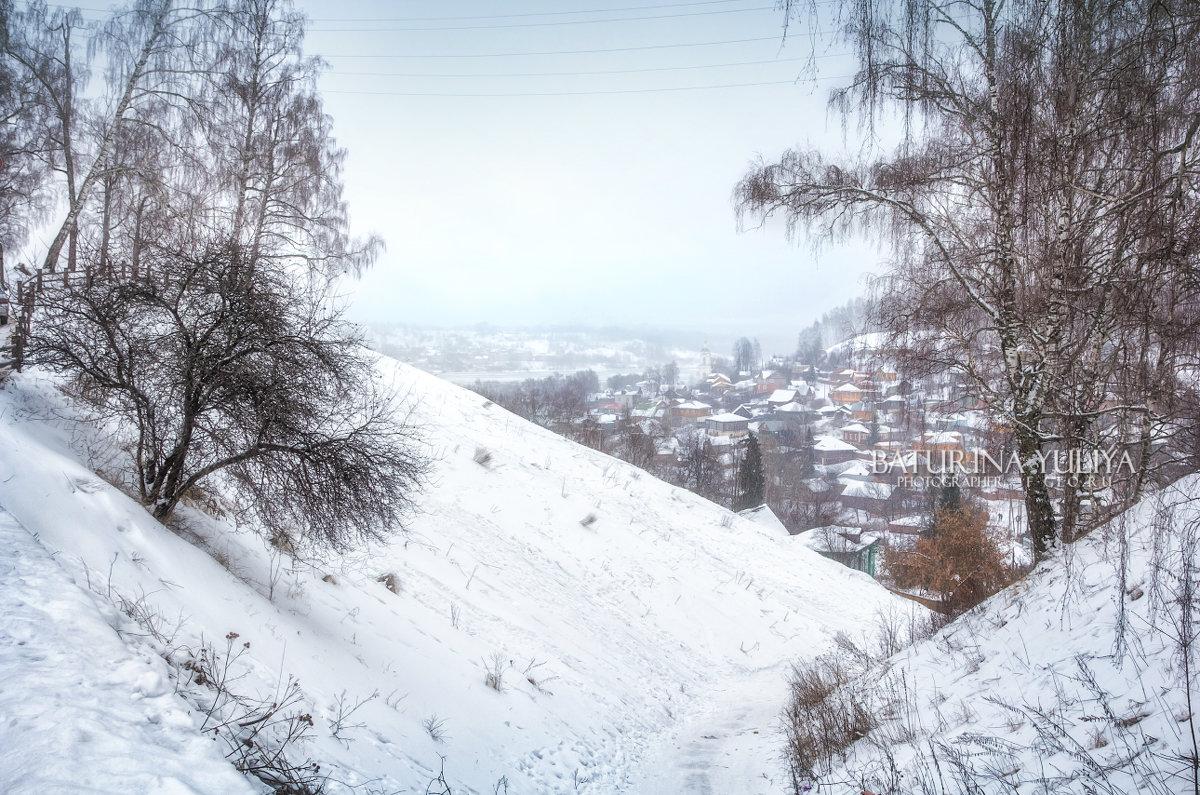 Белая зима Плёса - Юлия Батурина