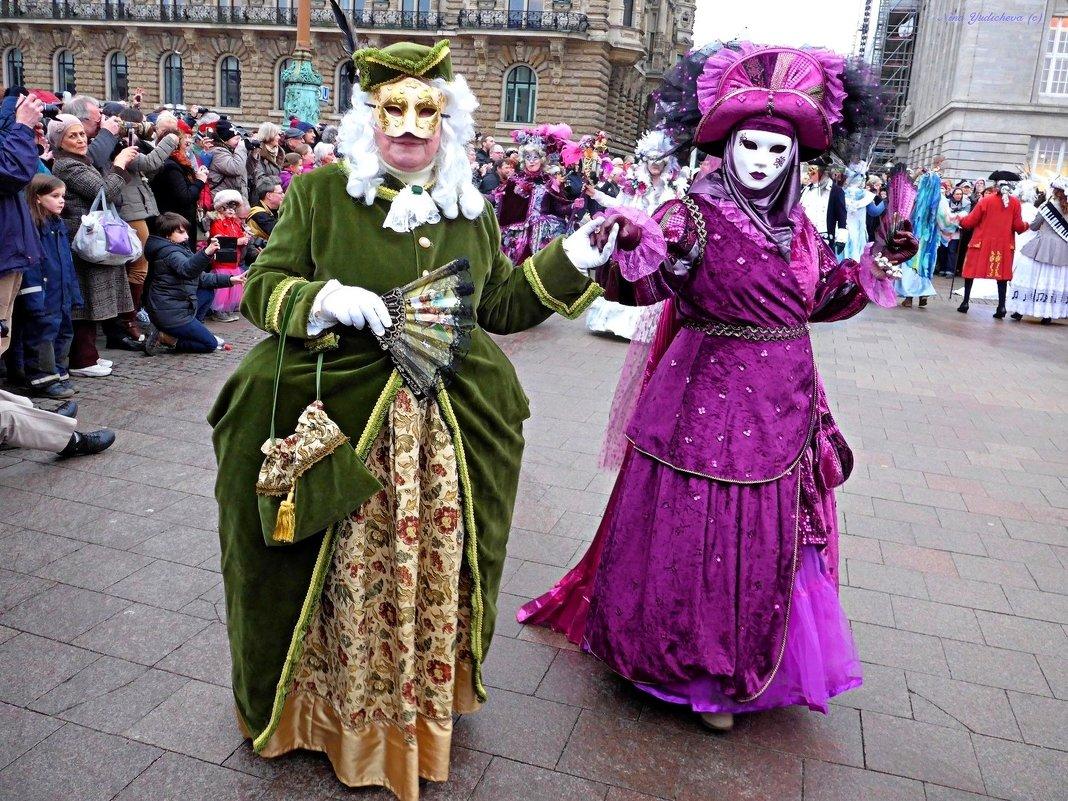 Venezianischer Karneval in Hamburg - Nina Yudicheva