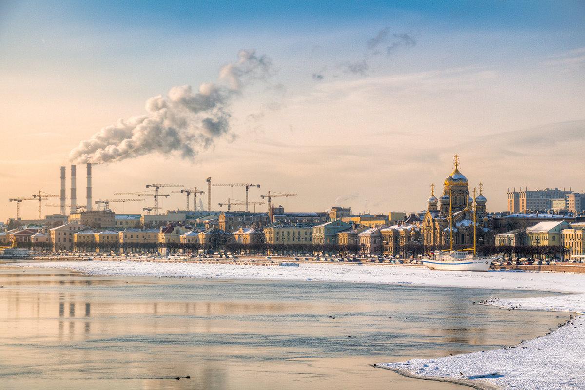 Вид с Благовещенского моста - Ярослав Трубников