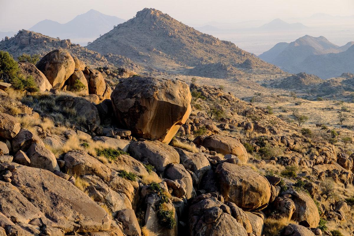 каменная пустыня гор Науклюфт - Георгий А