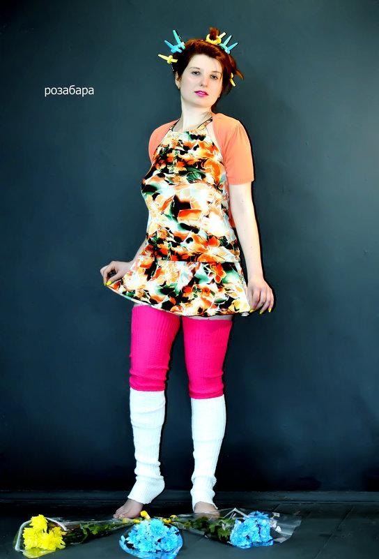 Мари любит много букетов)) - Роза Бара