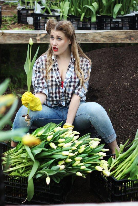 цветочница - Алёна Горбылёва