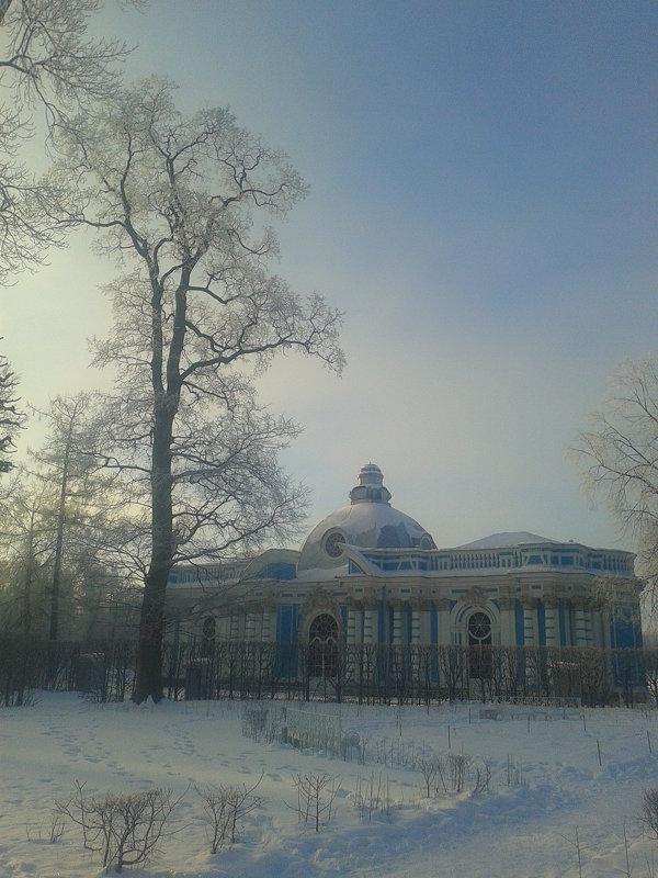 Морозный туман - Сапсан