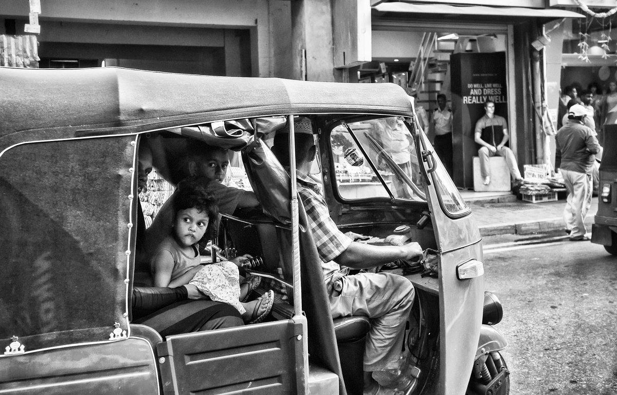 На улицах Шри Ланки. - Ирина Токарева