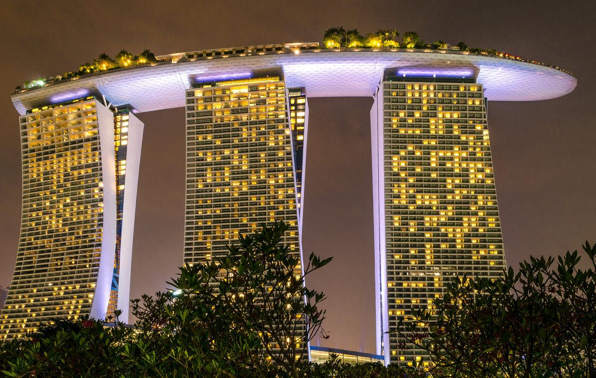 """Отель """"Marina Bay Sands"""", Сингапур. - Edward J.Berelet"""